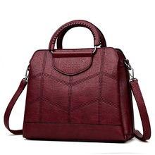 Tote Leder Luxus Handtaschen Frauen Taschen Designer Handtaschen Hohe Qualität Umhängetaschen Für Frauen 2019 Sac ein Haupt Damen Hand tasche