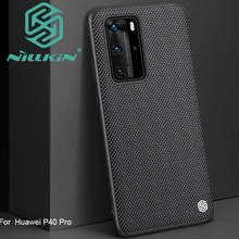 Nillkin Texture Tessitura di nylon Caso Del Modello Per Huawei P40 Pro