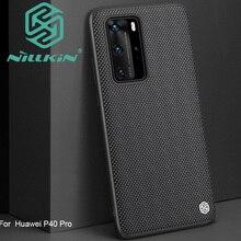 Nillkin funda con diseño de textura de nailon para Huawei P40 Pro, texturizada