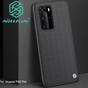 Image 1 - Nillkin funda con diseño de textura de nailon para Huawei P40 Pro, texturizada
