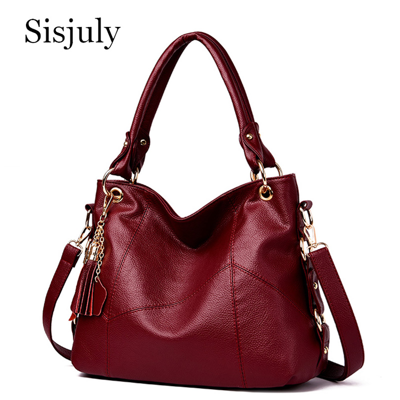 Genuine Leather Luxury Handbags Women Bags High Quality Tassel Designer Handbags Ladies Crossbody Hand Tote Bags For Women 2019