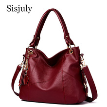 Genuine Leather Luxury Handbags Women Bags High Quality Tassel Designer Handbags