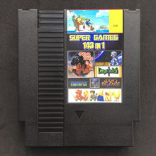 143 em 1 melhores jogos de vídeo de todos os tempos bateria salvar contra/earthbound/megaman 123456 72 pinos 8 bit cartão de jogo