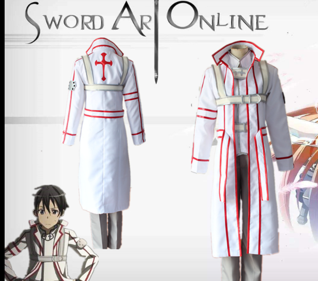 Kazuto Kirigaya GGO Cosplay Sword Art Online Anime Cosplay Costume Kirito GGO Full Sets Game Costume Men Alicization