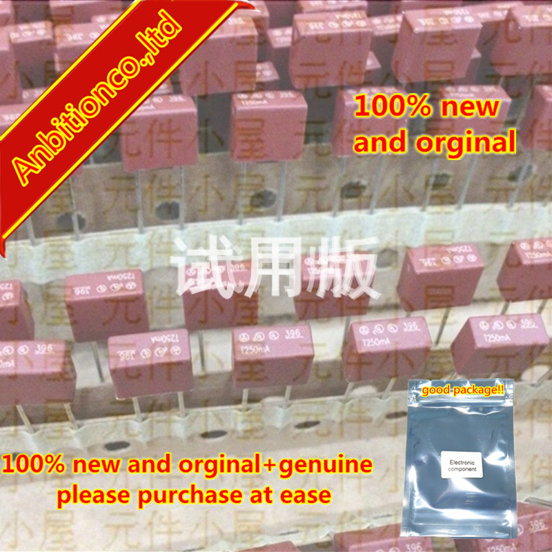 10pcs 100% New And Orginal Square Fuse 396 0.25A T250MA 125V In Stock