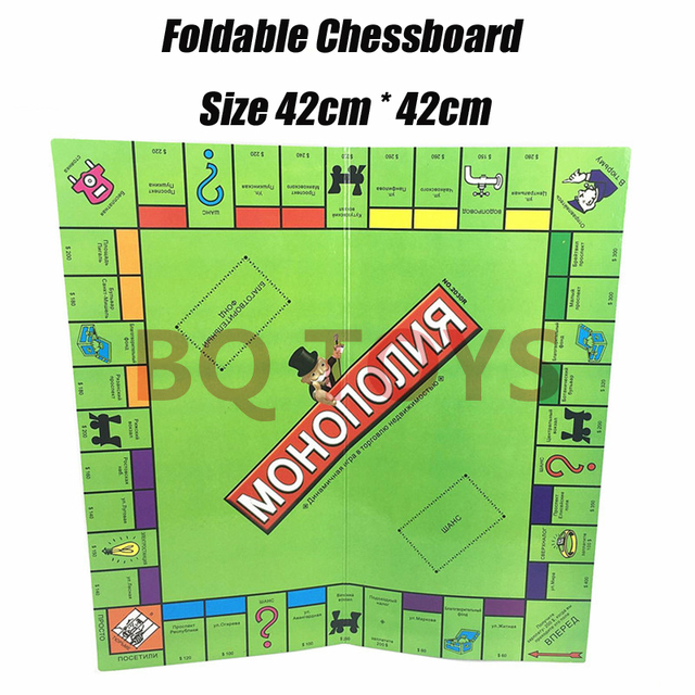 12 Models Classical Monoply Games In English French Russian Spanish Arabic Board Games Tycoon Kid Family