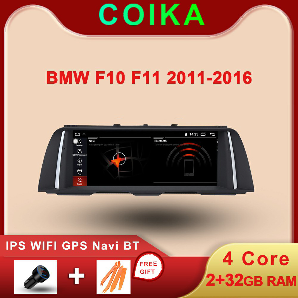 COIKA <font><b>Android</b></font> 10 System Car Multimedia Player For <font><b>BMW</b></font> <font><b>F10</b></font> F11 2011-2016 WIFI Google 2+32GB RAM BT IPS Touch Screen GPS Navi image