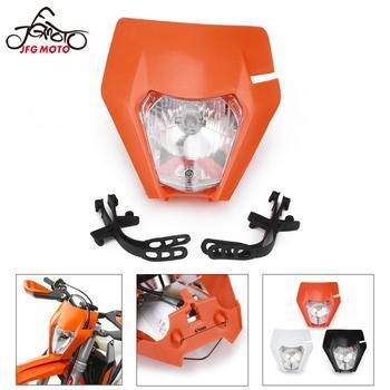 For KTM EXC SX SXS EXCF XCW 65 125 150 200 250 300 350 450 500 525 Motorcycle 2017 2018 2019 Headlamp Headlights Head Light Lamp