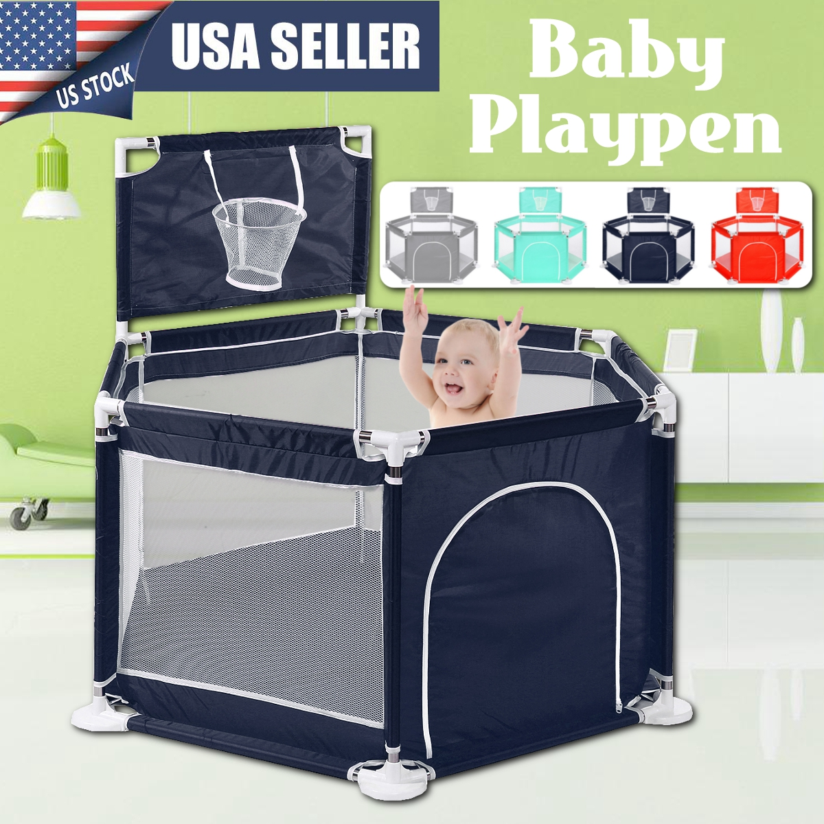 Playpen For Children Playpen Pool Balls Baby Playpen For 0-3 Years Ball Pool For Baby Fence Kids Tent Baby Tent Ball Pool