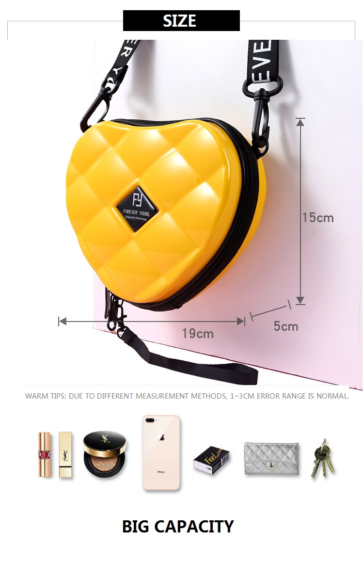 Hbd5642baed5d4387bf24351af8e8c8a90 - Fashion Luxury HandBags Heart Shaped PVC Mini Shoulder Bag for Woman Fashion Designer Personality Small Box Women Purses