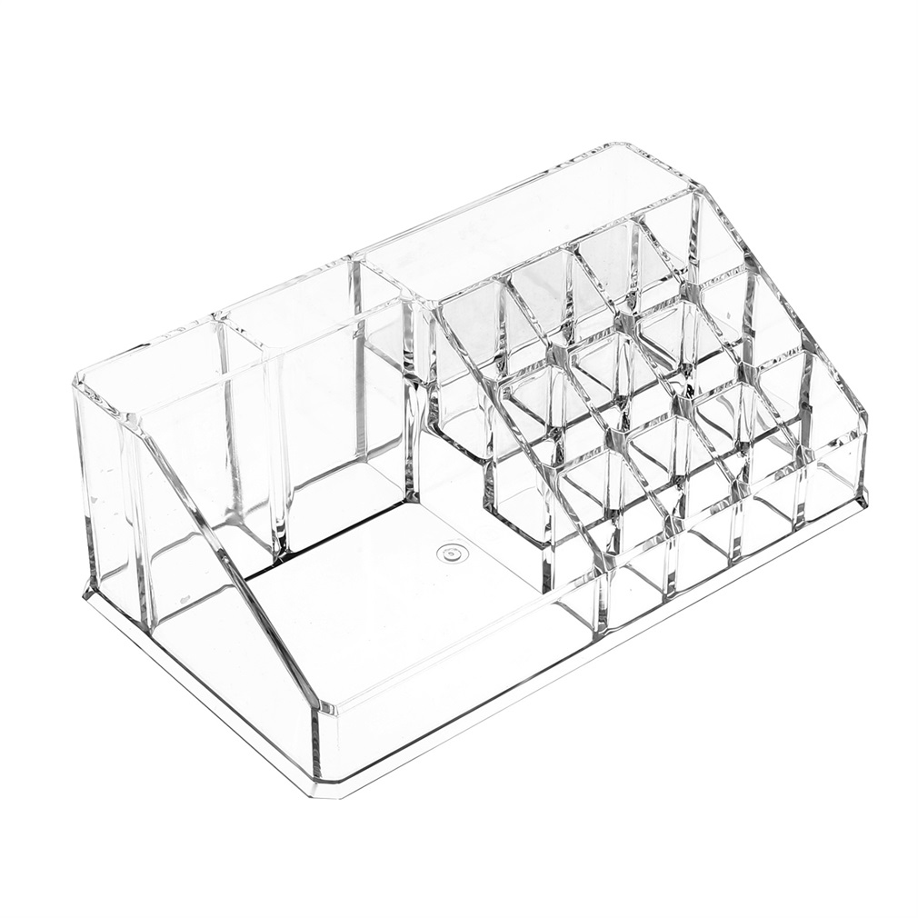Durable Transparrent Clear Acrylic Jewelry & Cosmetic Tips Dust-free Cotton Bud Storage Display Box Case 29/56
