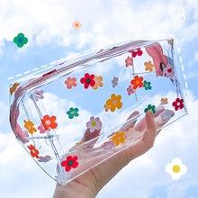 Kevin & sasa Crafts-estuche grande transparente de PVC, bolsa de material escolar lápiz, regalo de papelería, mochila para el colegio a la escuela