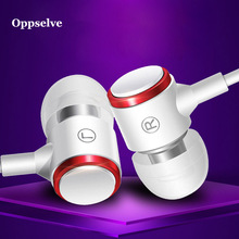 Headphone Earpieces Noise Cancellation Super-Bass Earbud Wired Jack-Head Running-Gaming