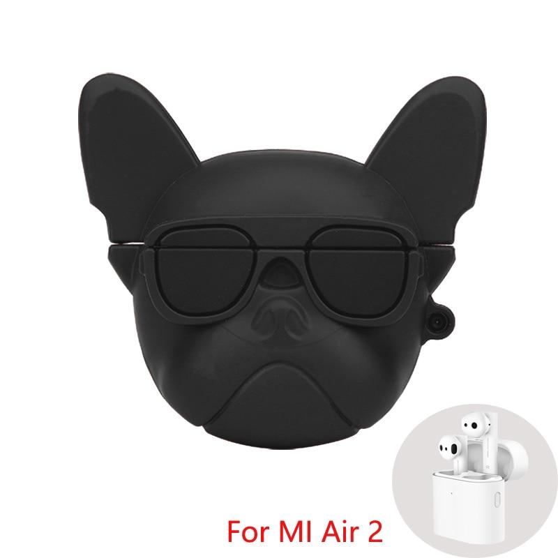 Silicone Case For Xiaomi Air 2 TWS Bluetooth MI Air 2 Mi True Wireless Earphone Cartoon Protection Case Anti-fall Shell