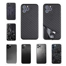 3d camo gelo filme para iphone 12 pro max mini 11 x xr xs 6s 7 8 plus protetor de pele adesivo capa de fibra carbono couro volta filme