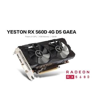 Yeston RX560D-4G D5 GAEA Graph
