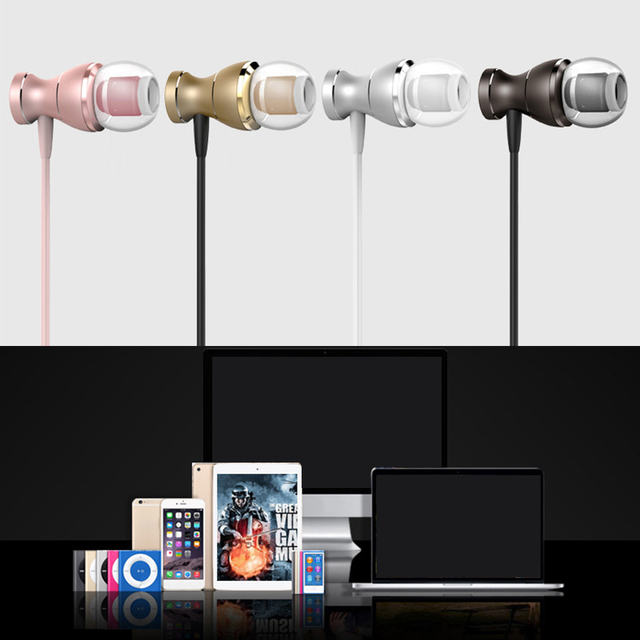 High Quality In-Ear Earphone, Stereo Sound With Mic Earphones For iphone Cell Phone MP3/4