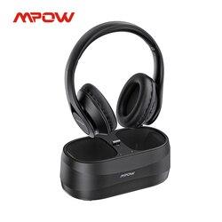 Mpow T20 Bluetoot ТВ гарнитура Беспроводной наушники с передатчиком 3,5 мм RCA AXU USB Порты и разъёмы 25 часов проигрывания для ТВ портативных ПК наушники