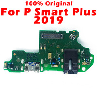 Original Charging Board For Huawei P Smart Plus 2019 USB Charging Port on P Smart Plus PCB Dork Connector Flex Cable Spare Parts