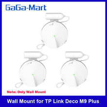 Wall Mount for TP Link Deco M9 Plus Whole Home Mesh WiFi System TP Link Deco M9 Plus Wifi Router Shelf Cable Management Bracket