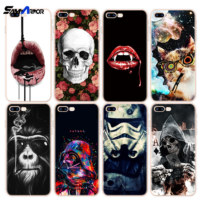 Funny Phone Case For Oneplus 3 5 5T 6 6T Coque For Google Pixel 2 3 XL TPU For iPhone X XS Max XR 5 SE 6 S 8 7 Plus Soft Fundas image