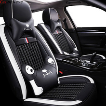 цена на car believe leather car seat cover For mazda 3 bk bl 2010 cx 7 cx-5 2013 6 2014 323 familia cx9 accessories seat covers