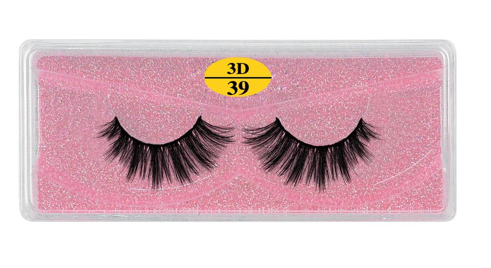 Hbd57ff5670d84603b55105c8fe246bfaH - MB Eyelashes Wholesale 40/50/100/200pcs 6D Mink Lashes Natural False Eyelashes Long Set faux cils Bulk Makeup wholesale lashes