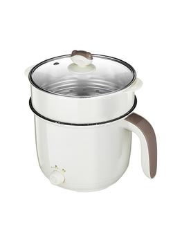 220V wielofunkcyjna kuchenka elektryczna ogrzewanie Pan elektryczny gar do gotowania maszyna do Hotpot makaron ryż jaj zupy podwójne do gotowania na parze tanie i dobre opinie HAIMAITONG NONE NO (pochodzenie) do duszenia Składane dno 350 w 220 v Z aluminium Mechanical 1 5L and 1 8L AT325A107