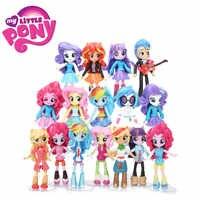 12cm 9pcs 7pcs My Little Pony Toys Friendship Is Magic Pony Figure Set Twilight Sparkle Rainbow Dash Fluttershy Model Doll Dolls