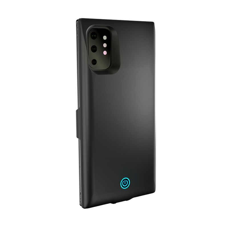7000 mah caso carregador de bateria para samsung nota 10 10pro power bank carregador portátil backup bateria externa capa do telefone caso