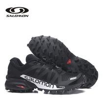купить Salomon Speedcross 5 Men Fencing Shoes Sneakers Breathable Fencing Shoes Salomon SpeedCross Pro 2 Mens Cross-Country Shoes S-LAB дешево