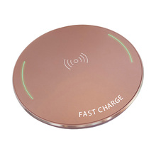 Mini Smart Portable Fast Wireless Charger Aluminium Travel L