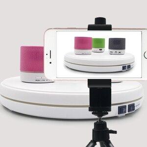 Image 2 - LED подставка для фотографий, 25 см, 360 градусов
