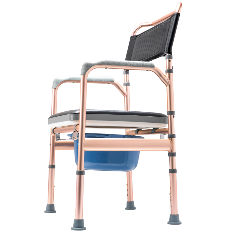 The Elderly Sit Toilet Chair Household Foldable Pedestal Pan Move Closestool Stool Old Age Pregnant Woman Sit Lavatory Shit