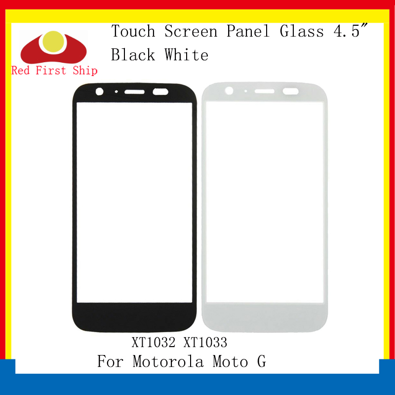 10Pcs lot Touch Screen For Motorola Moto G XT1032 XT1033 Touch Panel Front Outer LCD Glass Lens For Moto G Glass Replacement in Mobile Phone Touch Panel from Cellphones Telecommunications