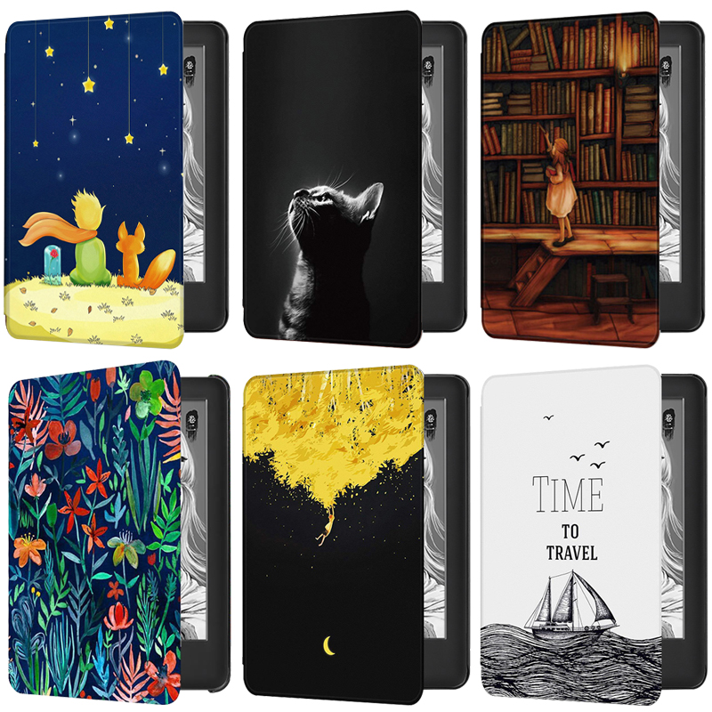 PU Leather Smart Case For Amazon New Kindle 10th Generation-2019 Release Fashion Delicate Magnetic Cover Kindle 2019 Case