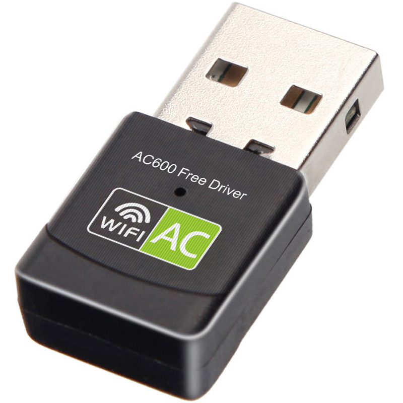 Transmitter Network-Card Wifi-Receiver Free-Drive Dual-Band Usb Wireless Ac600m Portable