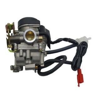 Image 2 - Carburateur de moto de Carb CVK de gros alésage de 20mm pour le chinois GY6 50cc 60cc 80cc 100cc 139QMB 139QMA Scooter cyclomoteur ATV Kart