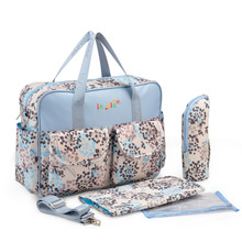 Multifunctional Maternity Mother Baby Stroller Bags Insular New Style Waterproof Diaper Bag Large Capacity Messenger Travel Bag