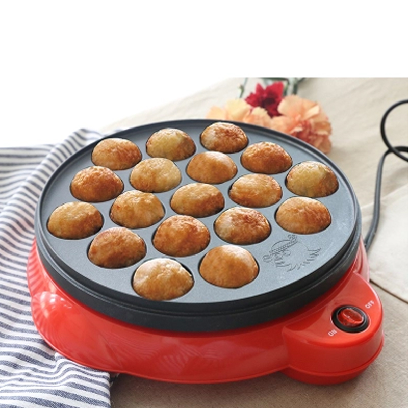 Maruko Machine Octopus Baking Machine Household Takoyaki Machine Octopus Balls Maker Professional Cooking Tools EU US