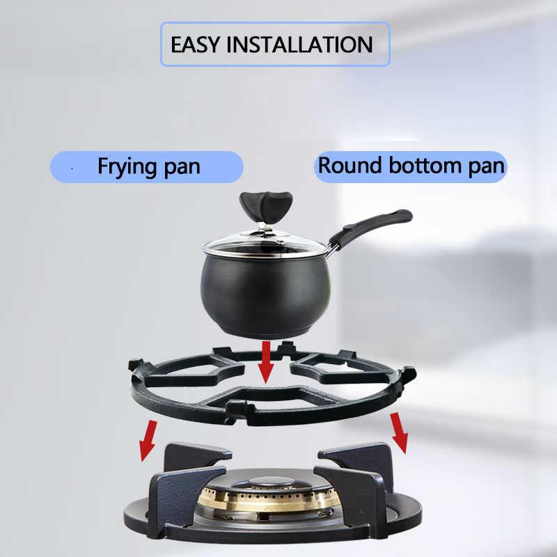 cuisini/ère /à gaz Jcevium Support universel en fonte pour wok cuisine Pour br/ûleur /à gaz cuisini/ère /à gaz maison ustensiles de cuisine.