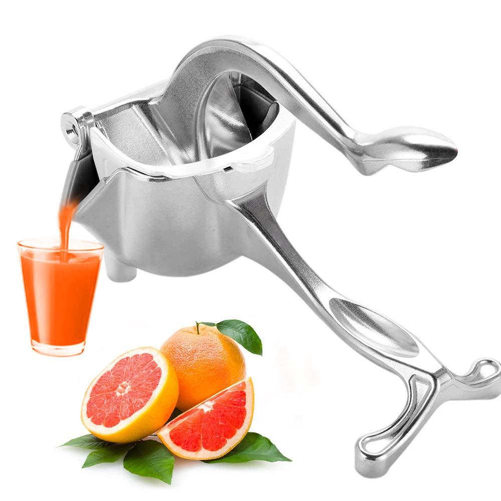 합금 레몬 압착기 헤비 듀티 핸드 프레스 과일 과즙 짜는기구 수동 감귤류 프레스 juicer for grapefruits orange-에서착즙기부터 가전 제품 의 title=