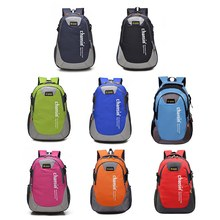 Unisex Fashion Durable Nylon Cloth Casual Outdoor Traveling Large Capacity Students Bag Backpack