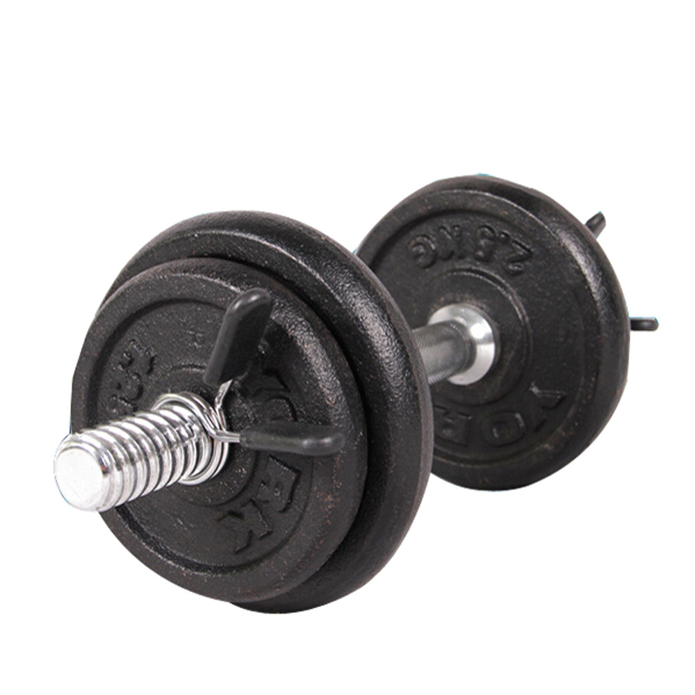 2Pcs 25mm Barbell Gym Weight Bar Dumbbell Lock Clamp Spring Collar Clips Indoor Use Trainning Fitness