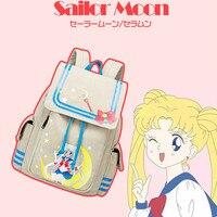 Anime Sailor Moon Backpack Canvas School Rucksack Schoolbag Travel Bag Laptop BackPack Unisex Gift Cute Backpack