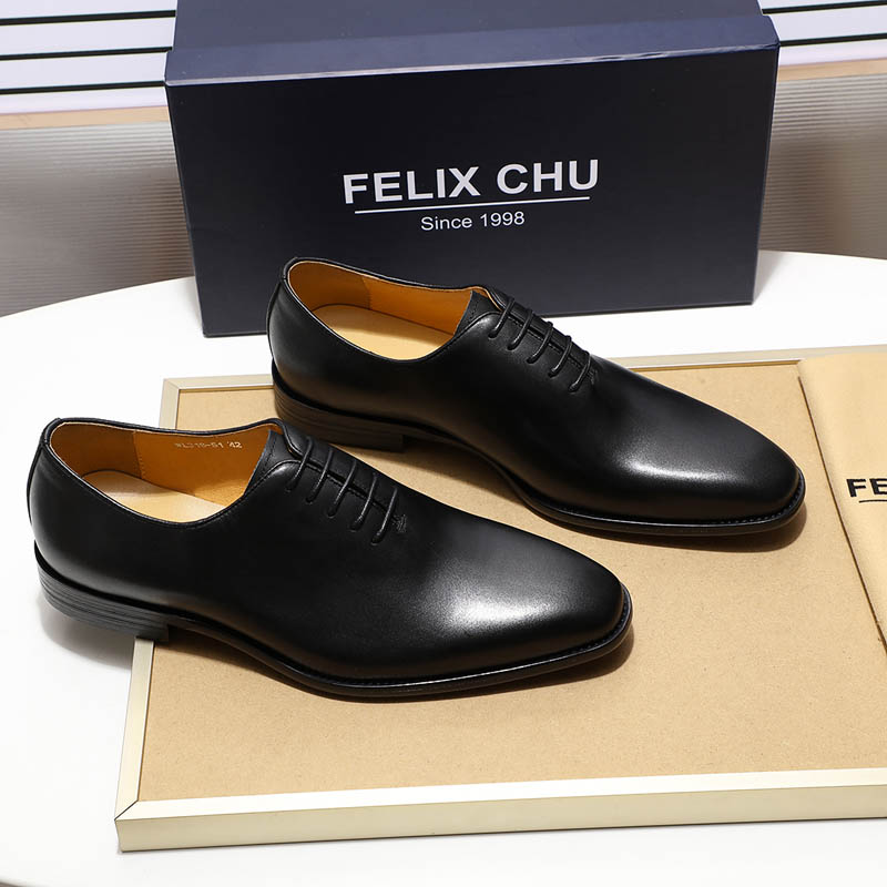 Classic men's Oxford shoes, made of genuine leather 5
