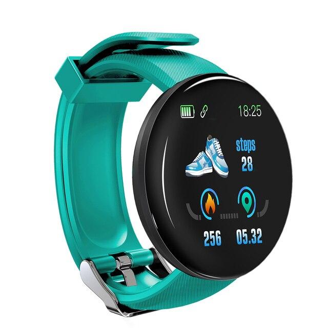 Tela colorida relógio inteligente freqüência cardíaca pressão arterial saúde faixa de fitness esporte pulseira unisex tt @ 88 5