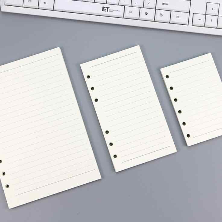 45 Vellen Business A5 A6 Losse Blad Notebook Refill Spiraal Bindmiddel Index Binnenpagina Maandelijkse Wekelijkse Te Doen Lijst Papier briefpapier