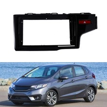 Car Radio Fascia for 2014-2018 HONDA FIT Jazz 9 Inch Stereo DVD Player Dashboard Kit Faceplate RHD(China)