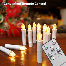 LED Candles Electric Battery Powered Flameless candles home decoration Wedding Birthday Party Christmas Halloween Decor Candle 10 pcs red led electric candles flameless tea lights fake velas flame votive timer tealight home xmas tree festive wedding decor